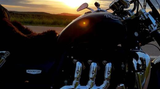 Moto viaje fin