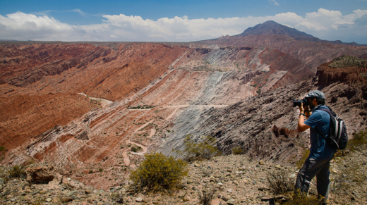 Apertura Cráter de los Cóndores