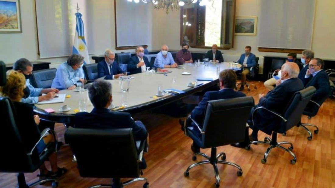 reunión gobierno y ruralistas