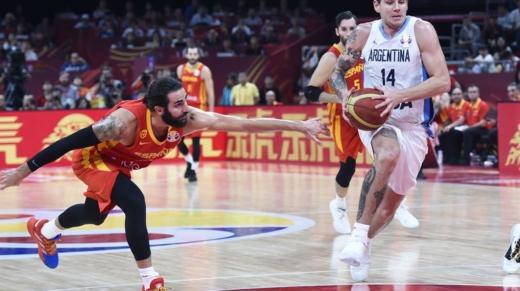 argentina-españa básquet