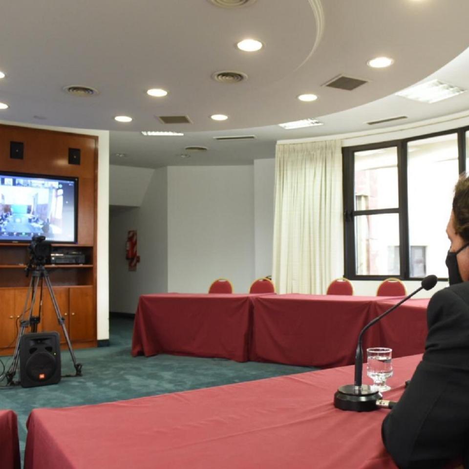 Sáenz en reunión con ministros nacionales
