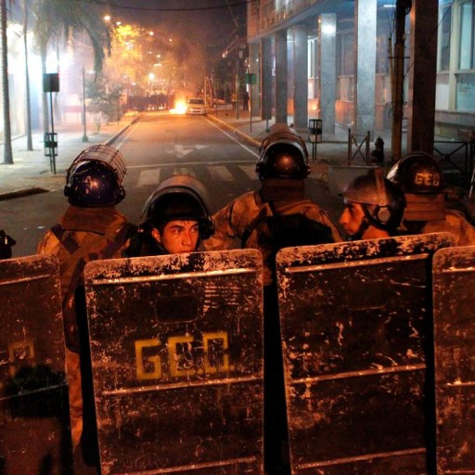 paraguay represión