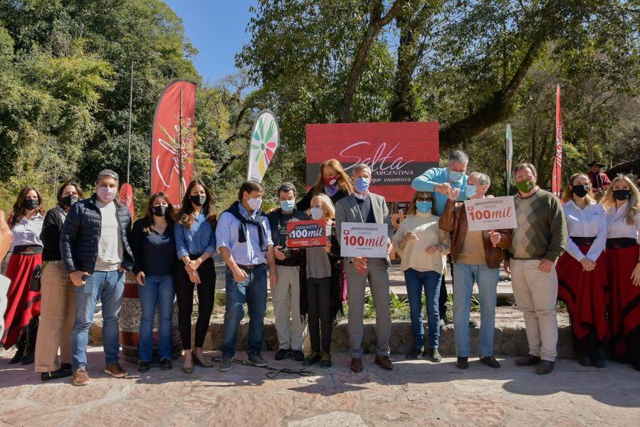 Salta agradeció a los primeros 100 mil turistas de la temporada