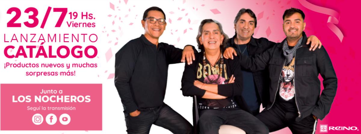 Reino presenta en Salta el nuevo catálogo 2021 con Los Nocheros